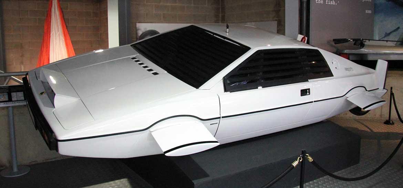 James bond car found in self-storage