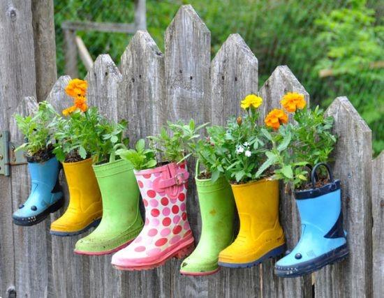 Boots garden