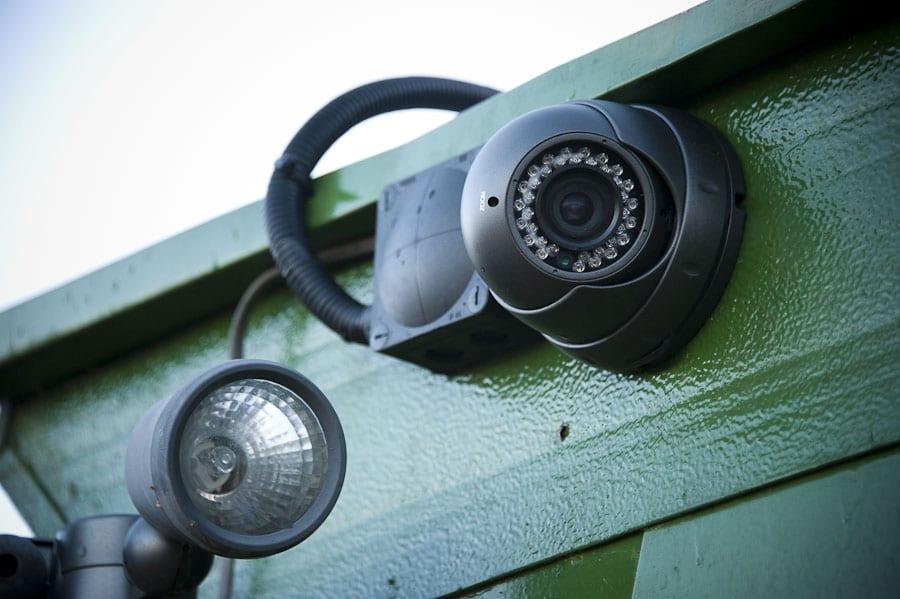 Our modern CCTV at Bransgore Storage Units